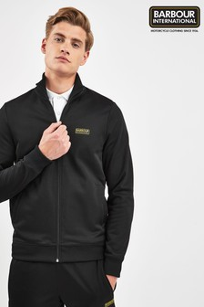 Barbour® International Black Track Top