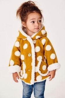 連帽刷毛襯裡外套 (3個月至7歲)