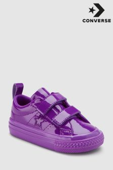 Converse Purple Patent One Star Trainer