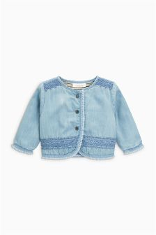 Embroidered Jacket (0mths-2yrs)