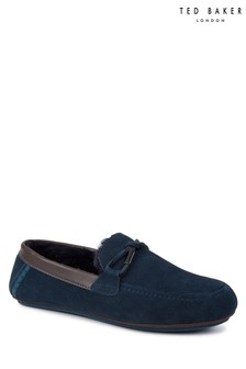 Ted Baker Navy Valcent Slipper