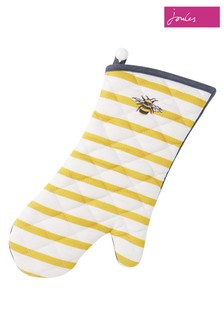 Joules Bee And Striped Single Oven Gloves