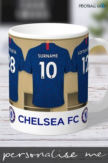 Personalised Chelsea Mug by Personalised Football Gifts