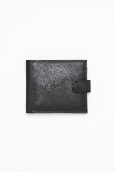 PU Popper Front Wallet