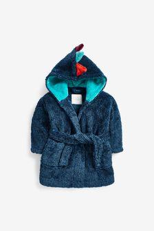 Soft Touch Fleece Dressing Gown (9mths-12yrs)