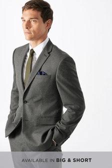 Regular Fit Puppytooth Wool Blend Suit