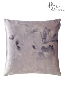 Kylie Exclusive To Next Luciana Floral Velvet Cushion