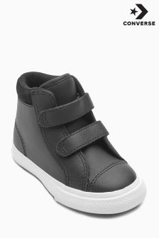Converse Black All Star Velcro