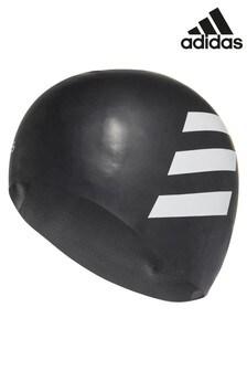 adidas Black Swim Cap