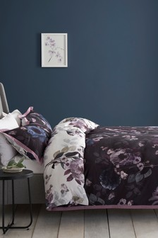 Cotton Sateen Timeless Floral Digital Bed Set