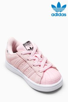 adidas Originals Pink Suede Superstar