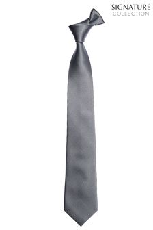 Signature Textured Tie