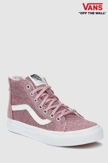 Vans Glitter Sk8 Hi, rosa