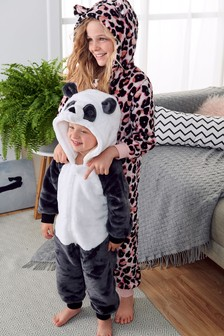 Leopard Fleece All-In-One (1.5-16yrs)