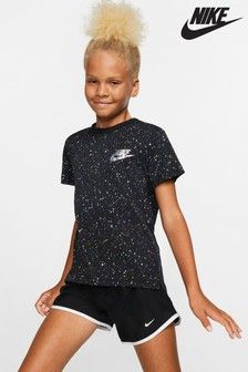 Nike Metallic Star Logo Print T-Shirt