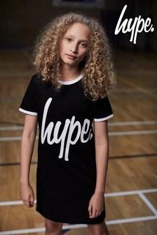 Hype. Black Ringer Dress