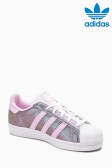 adidas Originals Pink Shimmer Superstar