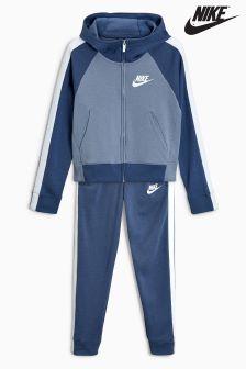 Nike Blue Fleece Tracksuit