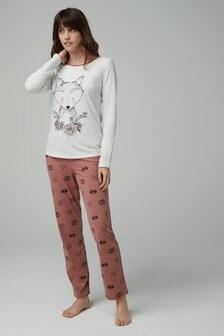 Fox Print Pyjamas