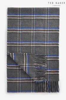 Ted Baker Wigmore Window Pane Checked Scarf