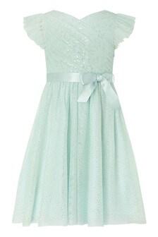 Monsoon Aruba Sequin Wrap Dress