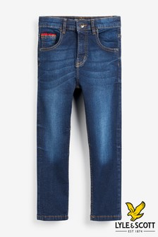 Lyle & Scott Denim Carrot Fit Jeans