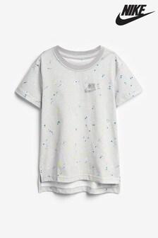Nike Metallic Star Logo Print T-Shirt