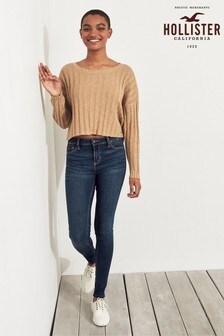 Hollister Dark Wash Super Skinny Jeans