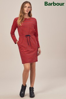 Barbour® Red/Navy Stripe Newquay Dress