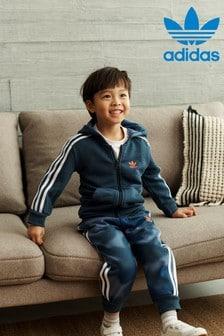 adidas Originals Little Kids Camo Hoodie And Joggers Set