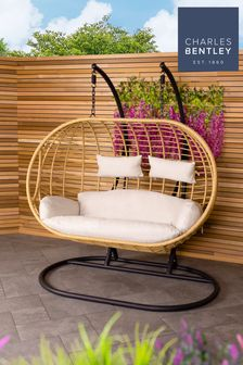 Double Hanging Swing Chair By Charles Bentley