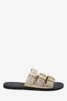 a247fa9a07fb5 Womens Gold Sandals | Stylish Gold Sandals For Ladies | Next UK