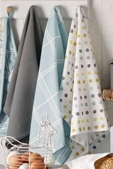 Set of 3 Sky Country Studio* Tea Towels