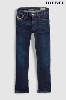 Diesel® Kids Waykee Dark Wash Straight Leg Jean