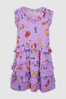 Ditsy Ruffle Dress (3-16yrs)