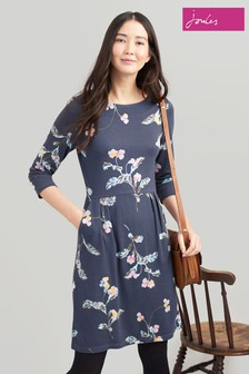 Joules Beth 34 Ponte Dress With 3/4 Sleeves