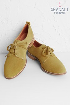 Seasalt Dark Pear Beryan Shoe Wide Fit