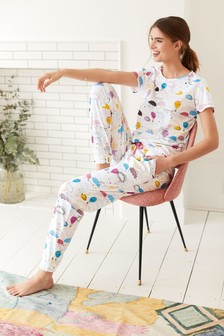 Cotton Short Sleeve Pyjamas