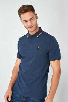 f882c19b Mens Polo Shirts | Plain, Striped & Printed Polo Shirts | Next UK