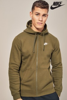 Nike Club Olive Green Hoody