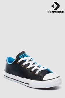 Converse Infant Black/Blue Chuck Ox