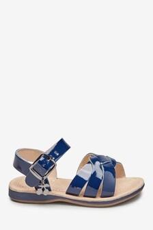 Кожаные сандалии с подвесками (Младшего возраста)