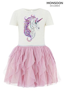 Monsoon Disco Uki Unicorn Dress
