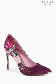 Pantofi escarpen din satin cu model floral Ted Baker Kawaap 2