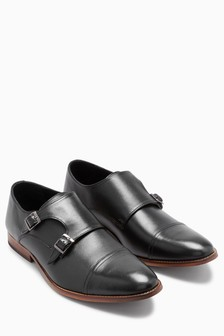 Toe Cap Monk Shoe