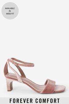 Square Toe Block Sandals