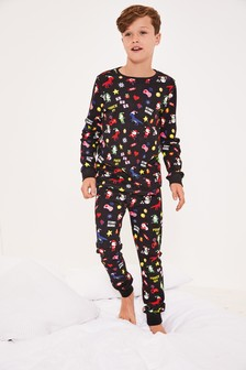 Game Christmas Print Pyjamas (9mths-16yrs)