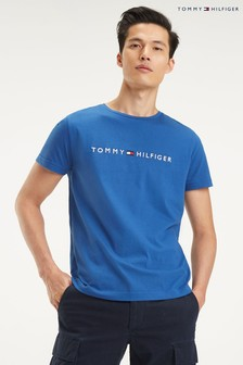 Tommy Hilfiger Blue Logo T-Shirt