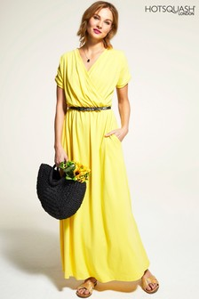 HotSquash Yellow Maxi Dress