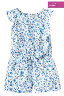 Joules Blue Ditsy Elle Playsuit